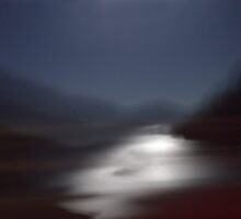 Yosemite Moonlight (Into The Open Road) by gabryshak