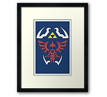 Zelda Ocarina of Time Poster Framed Print