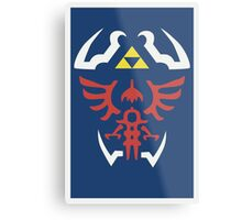 Zelda Ocarina of Time Poster Metal Print