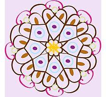 Color Mandala Photographic Print