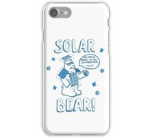 Solar Bear iPhone Case/Skin