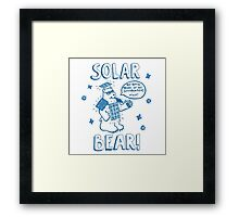 Solar Bear Framed Print