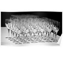 Banquet Glasses Poster
