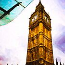 The Great Clock of Westminster by Mark Tisdale