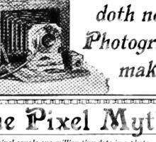 Pixel Myth Sticker