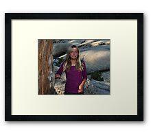 """ Nordic Blond "" Framed Print"