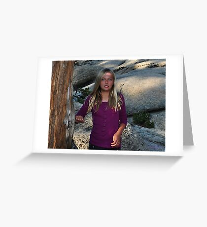 """"""" Nordic Blond """" Greeting Card"""