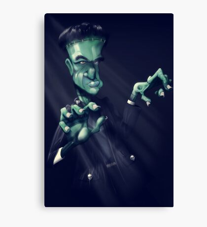 Frankie the monster Canvas Print
