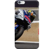 Jorge Lorenzo at laguna seca 2012 iPhone Case/Skin