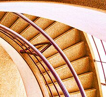 Spiral Staircase by Graham Hiscock