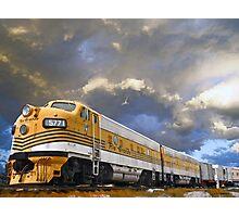 Mountain Train Photographic Print