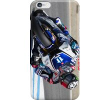 Ben Spies at laguna seca 2012 iPhone Case/Skin