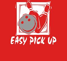 Funny Bowling Easy Pick Up Women's T-Shirt Womens Fitted T-Shirt