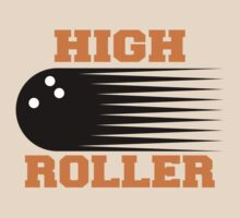 High Roller Bowling T-Shirt by SportsT-Shirts