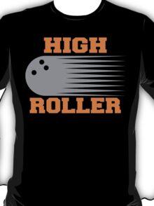 High Roller Bowling Dark T-Shirt T-Shirt