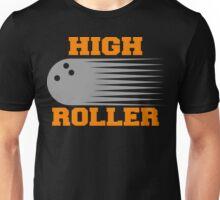 High Roller Bowling Dark T-Shirt Unisex T-Shirt