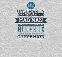 A Mad Man in Possession of a Blue Box T-Shirt