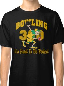 Funny Perfect 300 Bowling Game Bowling Dark T-Shirt Classic T-Shirt