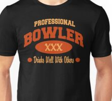 Drinks Well With Others Bowling T-Shirt Unisex T-Shirt