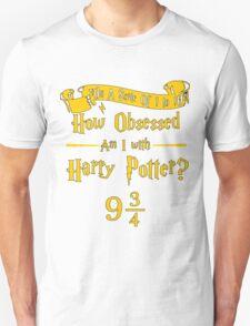 9 3/4 Obsession - Black Outline T-Shirt