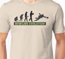 Evolution of Bowling T-Shirt Unisex T-Shirt