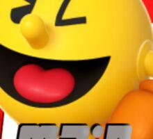 I MAIN PAC-MAN Sticker