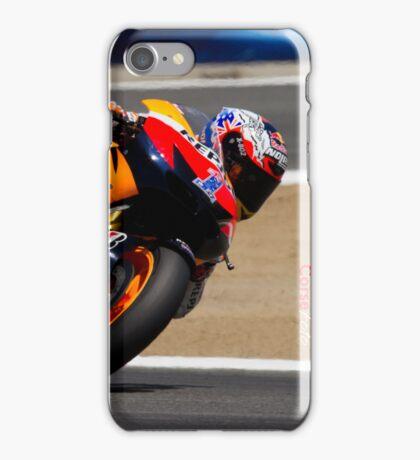 Casey Stoner at laguna seca 2012 iPhone Case/Skin