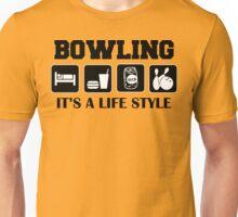 Eat Sleep Bowl Bowling T-Shirt Unisex T-Shirt