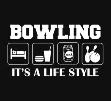 Sleep Eat Drink Beer Bowl Bowling T-Shirt by SportsT-Shirts