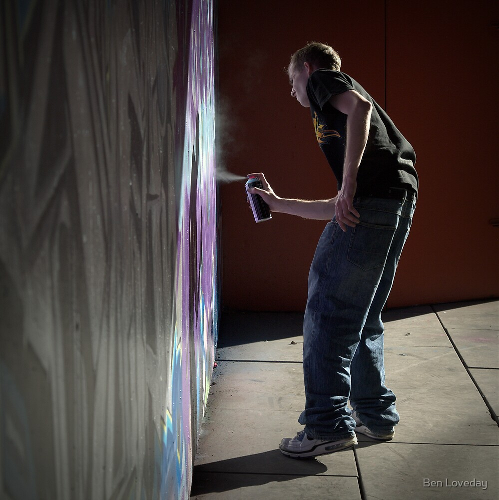The Painter by Ben Loveday