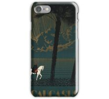 Vintage poster - Caucasus iPhone Case/Skin