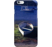 Boats on a lake iPhone Case/Skin
