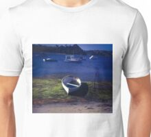 Boats on a lake Unisex T-Shirt