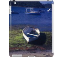 Boats on a lake iPad Case/Skin