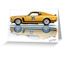 Trans Am Mustang 1970 Greeting Card