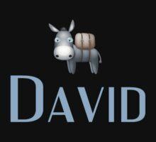 David name DONKEY CUTE LITTLE BOYS shirt One Piece - Short Sleeve