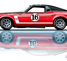 1969 Trans Am Mustang & 2010 Saleen by davidkyte