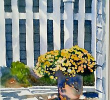 Patio Flowers by LindaStout