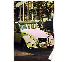 Old Citroën 2CV Poster