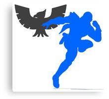 Smash Bros - Captain Falcon Canvas Print