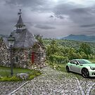 The Chapelle & The Car by Paul Kepron - ÐΛRКSIDΞR