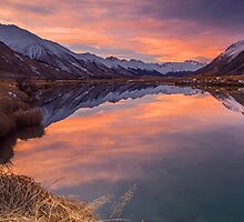 Ahuriri Valley sunset by Paul Mercer
