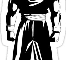 Warrior (black) Sticker