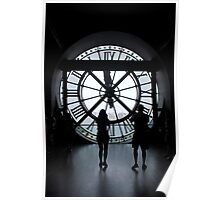 Musée d'Orsay Clock Tower Poster