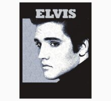 Elvis T-shirt by jerry2011