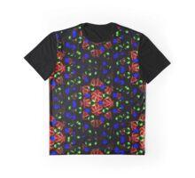 Orange Twist Graphic T-Shirt