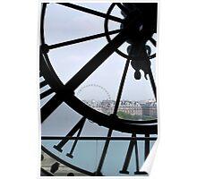 Musée d'Orsay Clock Poster