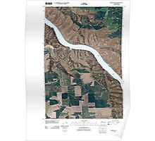 USGS Topo Map Washington State WA Granite Point 20110406 TM Poster