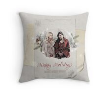 Christmas Special - Cards - Swan Queen Throw Pillow