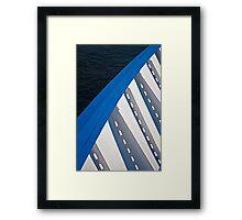 Port Bow Framed Print